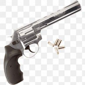 Revolver Gun Barrel Firearm Blank-firing Adaptor PNG