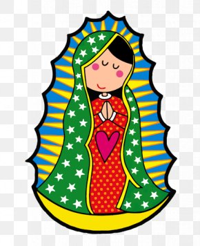 Our Lady Of Guadalupe Mexico Caricature PNG