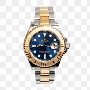 Blue Rolex Watch - Rolex Yacht-Master II Rolex Datejust Watch PNG