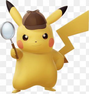 Pikachu Background - Detective Pikachu Video Games Film Trailer PNG