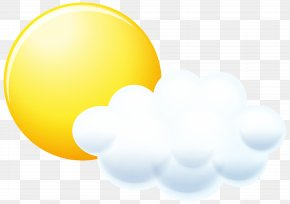 Sun And Cloud Clip Art Image - Iconfinder Syre Icon Design PNG