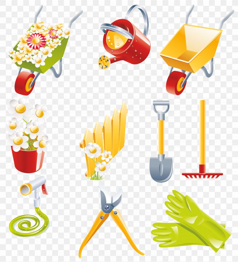 Garden Tool Gardening Watering Can, PNG, 5546x6095px, Garden Tool, Animation, Clip Art, Food, Fork Download Free