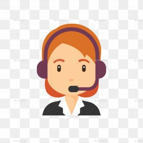 Avatar - Customer Service Avatar Clip Art PNG