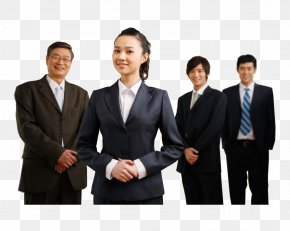Smiling Business People - Shanghai Changchun Management Service Information PNG