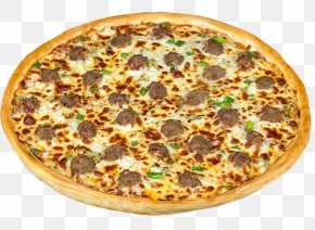 Cheese And Onion Pie - California-style Pizza Sicilian Pizza Meatball Pizza PNG
