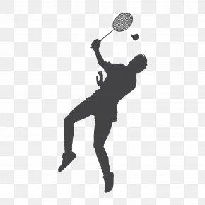 Badminton - Badminton Racket Shuttlecock Smash Clip Art PNG