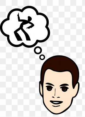 Thinking About Something - Clip Art Thought Vector Graphics Speech Balloon Question Mark PNG