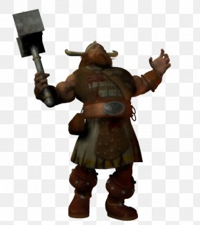 Dwarf - Figurine Toy Mercenary Profession Character PNG