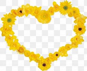 Flower Heart - Flower Heart Clip Art PNG