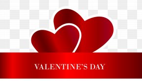 Valentine's Day Hearts Transparent PNG Clip Art Image - Valentine's Day Heart Clip Art PNG
