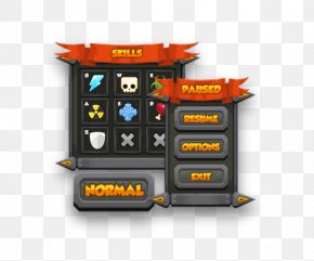 Interface Game - Pixel Art Graphical User Interface 2D Computer Graphics PNG