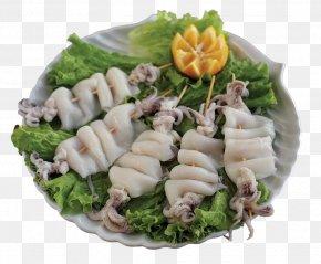 Calamari - Seafood Asian Cuisine Recipe Vegetable PNG