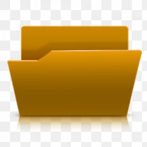 Folder Image - Rectangle Chair Yellow PNG