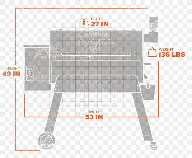 Barbecue Pellet Grill Traeger Pro Series 34 Grilling Pellet Fuel, PNG, 850x700px, Barbecue, Bbq Smoker, Chair, Cooking, Doneness Download Free