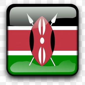 Flag - Flag Of Kenya National Flag T-shirt PNG