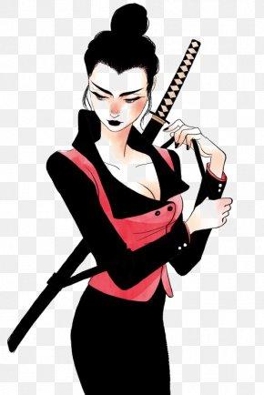 Ninja - Ninja Combat Ninjatō PNG