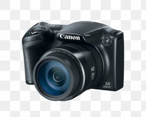 Canon Digital Camera File - Canon PowerShot SX400 IS Canon PowerShot SX410 IS Point-and-shoot Camera Zoom Lens PNG