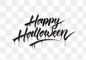 Have Artistic Character Happy Halloween - Halloween Calligraphy PNG
