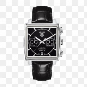 TAG,Heuer Square Dial Mechanical Watches - TAG Heuer Monaco Automatic Watch Chronograph PNG