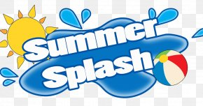 Summer Splash - Deep River Water Park Clip Art For Summer English Clip Art PNG