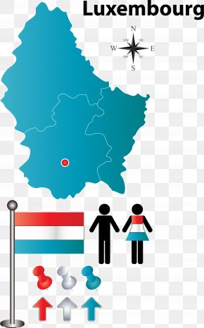 Luxembourg Flag Element Vector Map - Luxembourg City Can Stock Photo Royalty-free Clip Art PNG