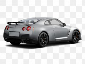 Car - Nissan GT-R Car Alloy Wheel Tire Rim PNG
