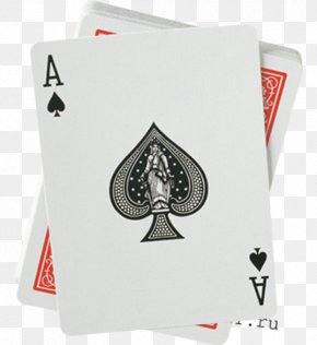 Suit - United States Playing Card Company Bicycle Playing Cards Ace Of Spades PNG