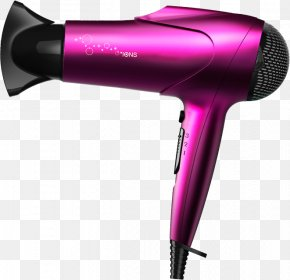 Hair Dryer - Comb Hair Dryer PNG