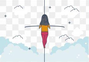 Women Exercise Balance - Flight Probiotic Intestine Flora Clostridium Difficile Infection PNG
