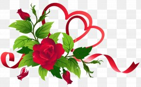 Valentine's Day - Ribbon Valentine's Day Clip Art PNG