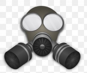 Gas Mask - Gas Mask Respirator Clip Art PNG