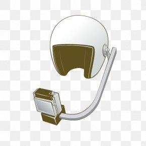Cartoon Listener Helmet - Helmet Cartoon PNG