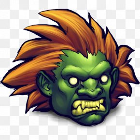 Street Fighter Blanka - Plant Art Fictional Character Illustration PNG