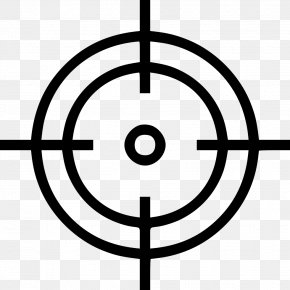Crosshair - Symbol Clip Art PNG
