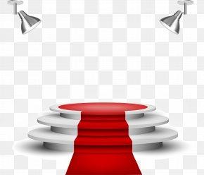 Vector Red Carpet - Lighting Carpet Clip Art PNG