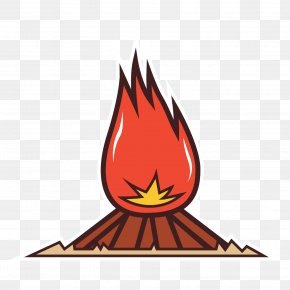 The Flame Of Fire - Bonfire Flame PNG