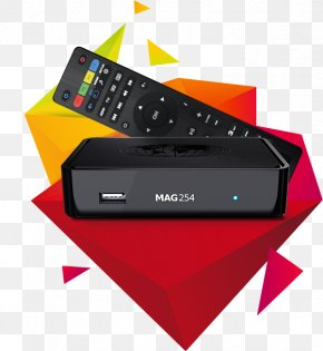 Infomir MAG254 IPTV Set-top Box Over-the-top Media Services HDMI PNG