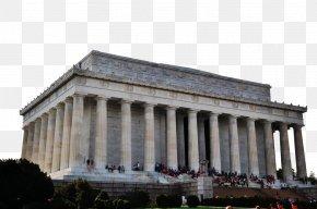 American Famous Lincoln Memorial - Lincoln Memorial Franklin Delano Roosevelt Memorial Korean War Veterans Memorial Thomas Jefferson Memorial Vietnam Veterans Memorial PNG