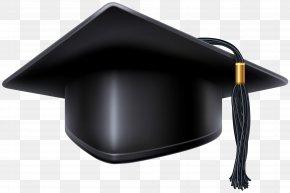 Black Graduation Cap Clip Art Image - Square Academic Cap Graduation Ceremony Hat Clip Art PNG