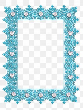 Aqua Frame - Picture Frames Purple Decorative Arts Clip Art PNG