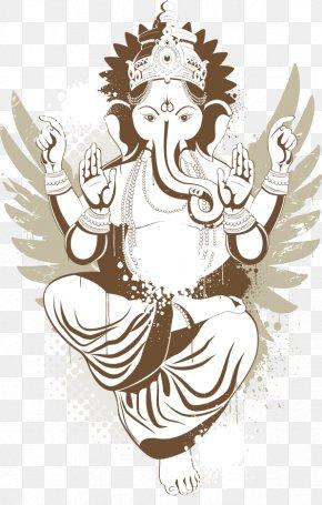 Creative Lord Buddha - Shiva Ganesha Tattoo Deity Hinduism PNG