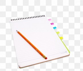 Notebook Writing - Paper Notebook Writing Download PNG