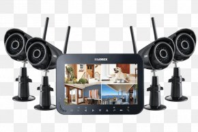 Camera Surveillance - System Wireless Security Camera Closed-circuit Television Home Security Surveillance PNG