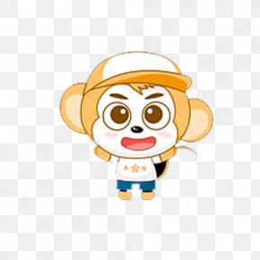 Monkey - Monkey Cartoon Chinese Zodiac PNG