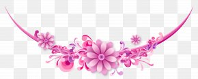 Flower - Borders And Frames Vector Graphics Clip Art Decorative Borders PNG