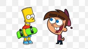 Bart Simpson - Bart Simpson Timmy Turner Lisa Simpson Mr. Burns Tiimmy Turner PNG