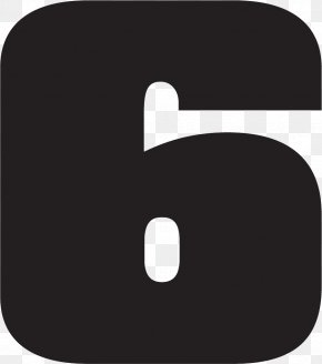 Number 6 - Numerical Digit Number Icon PNG