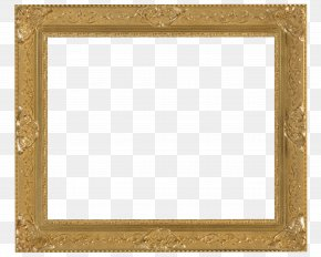 Gold Pattern Frame - Picture Frames Stock Photography Gold Royalty-free PNG