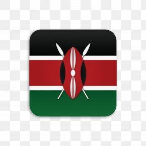 Flag - Flag Of Kenya National Flag Illustration PNG