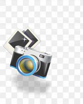 Cartoon Camera - Video Camera Digital Camera Clip Art PNG
